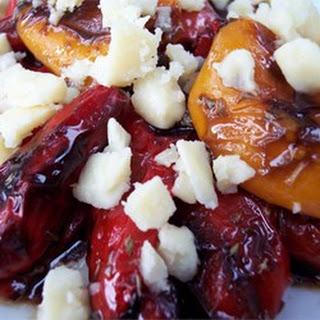 Mediterranean Marinated Roasted Peppers