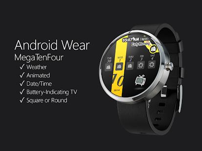 MegaTenFour Watchface | Android Wear Center