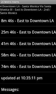 LA Metro Alerts- screenshot thumbnail