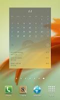 Screenshot of Flip Calendar + Widget 2014
