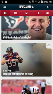 Houston Texans Mobile App- screenshot thumbnail