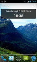 Screenshot of Nanji Clock Widget