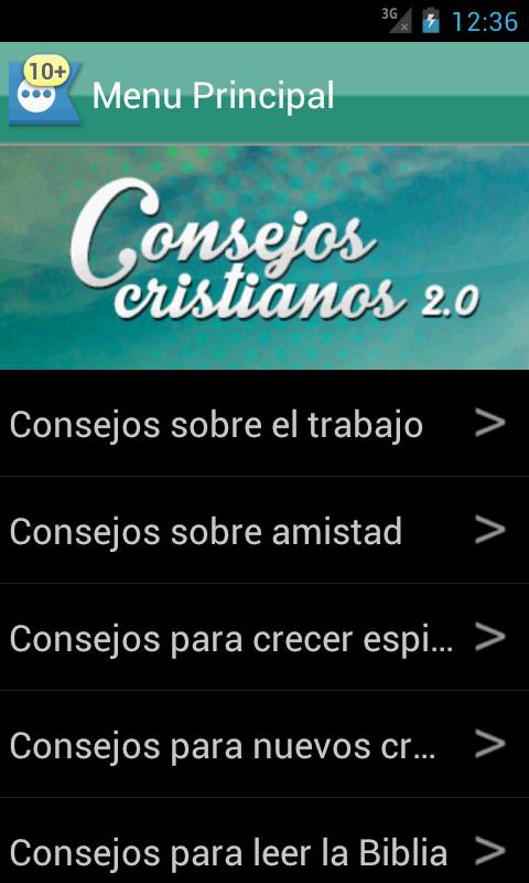 Consejos Cristianos 2.0 - screenshot