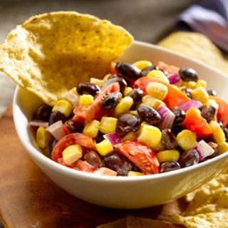 Creamy Black Bean & Corn Salad.