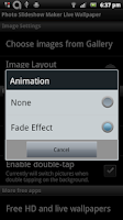 Screenshot of Photo Slideshow Maker LiveWall