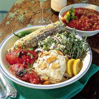 Charred Tomato Salad