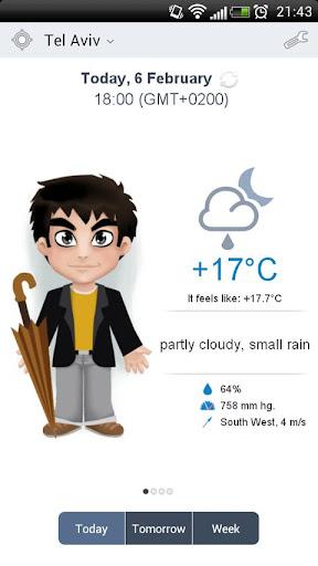 玩免費天氣APP|下載Meteoprog. Dressed by weather app不用錢|硬是要APP