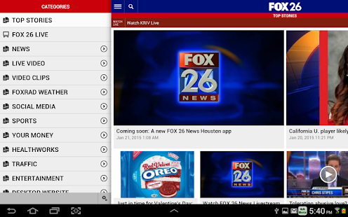 FOX 26 News- screenshot thumbnail