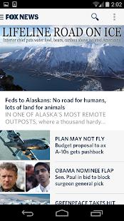 Fox News - screenshot thumbnail