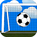 Mini soccer game collection icon