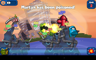 Screenshot of Worms 2: Armageddon