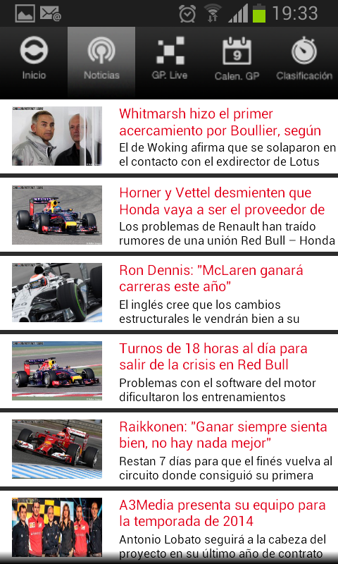 Caranddriverthef1.com - screenshot