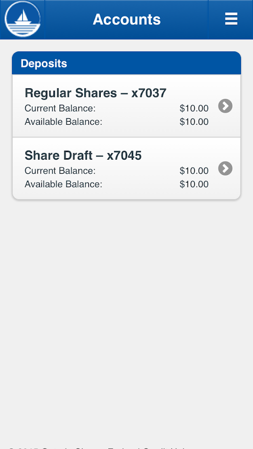 Ontario Shores FCU- screenshot