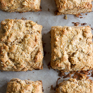 Oat and Maple Syrup Scones.