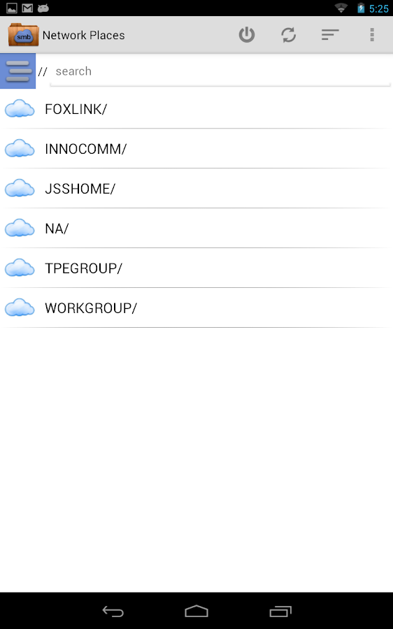 Network Places NEW (Innocomm) - screenshot
