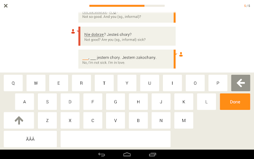 Learn Polish with Babbel- screenshot thumbnail