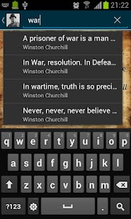 Sir Winston Churchill Quotes - screenshot thumbnail