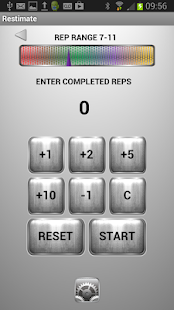 Restimate Gym Timer - screenshot thumbnail