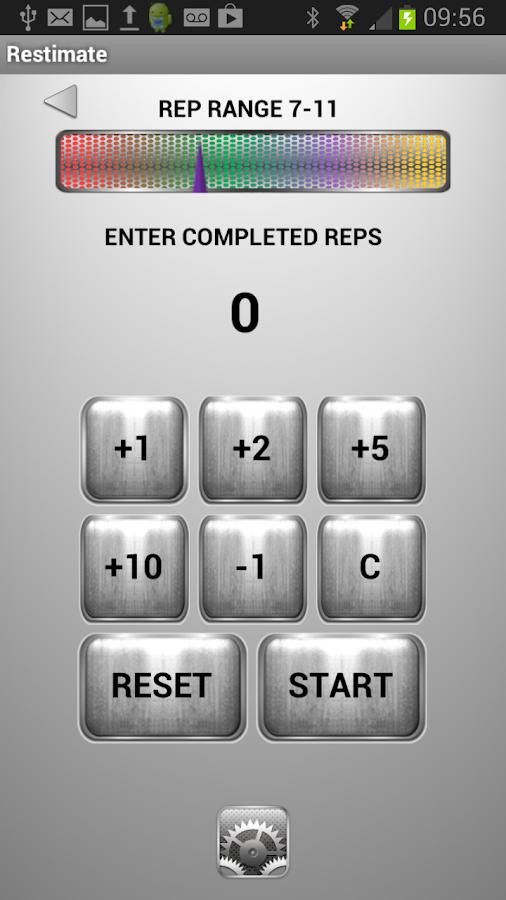 Restimate Gym Timer - screenshot