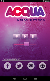 Listen Radio Acqua 105.9- screenshot thumbnail