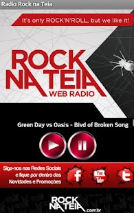 Rock na Teia - Web Radio- screenshot thumbnail