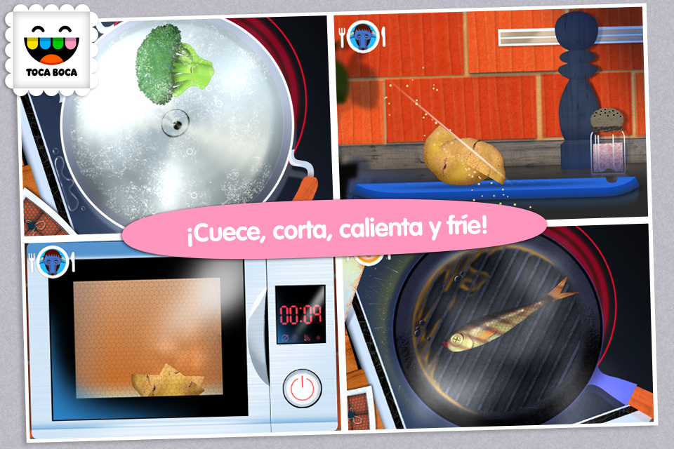 Toca Kitchen: captura de pantalla