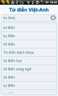 Vietnamese English Dictionary- screenshot thumbnail