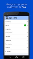 Screenshot of Housters, Property Management