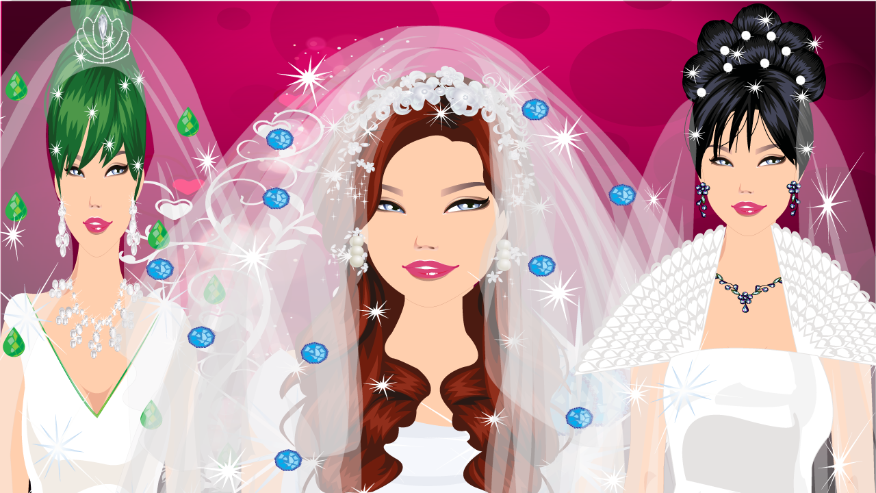 Dress up - Bride game - screenshot
