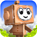 Paper Monsters 3d platformer icon