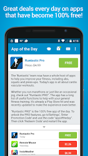 App of the Day - 100% Free Screenshot