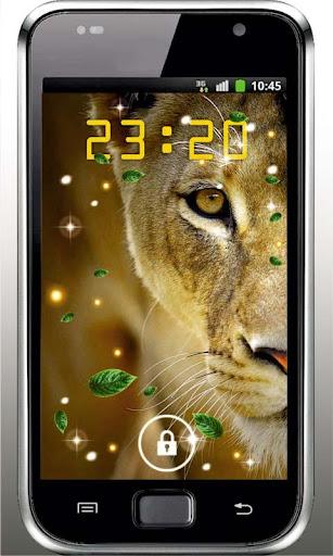 Lion Voice HD live wallpaper