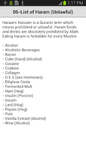 Halal Food Guide- screenshot thumbnail