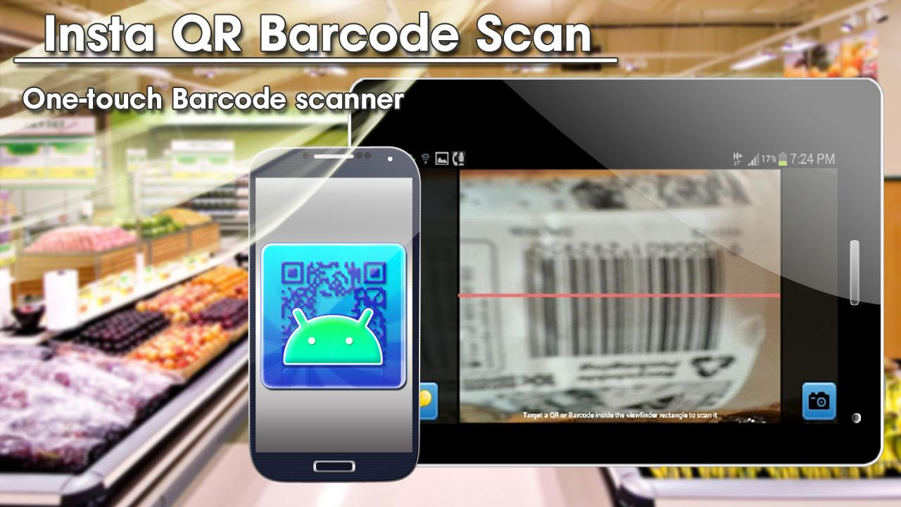 Android Insta QR Barcode Scan - screenshot