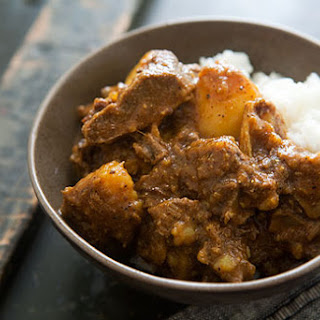 Jamaican Goat Curry.