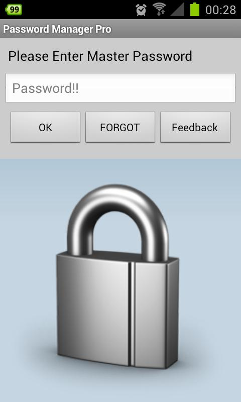 Password Manager - screenshot
