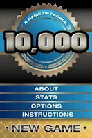 Screenshot of 10,000 (A Game of Farkle)