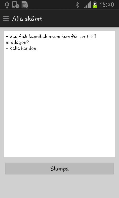 Svenska skämt - Lite - screenshot