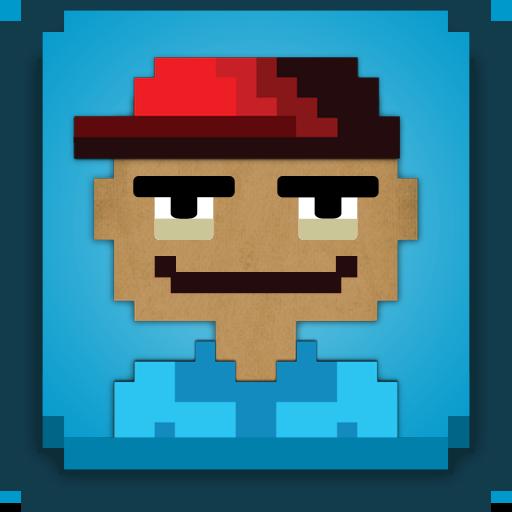 8bit icon 社交 App LOGO-APP試玩