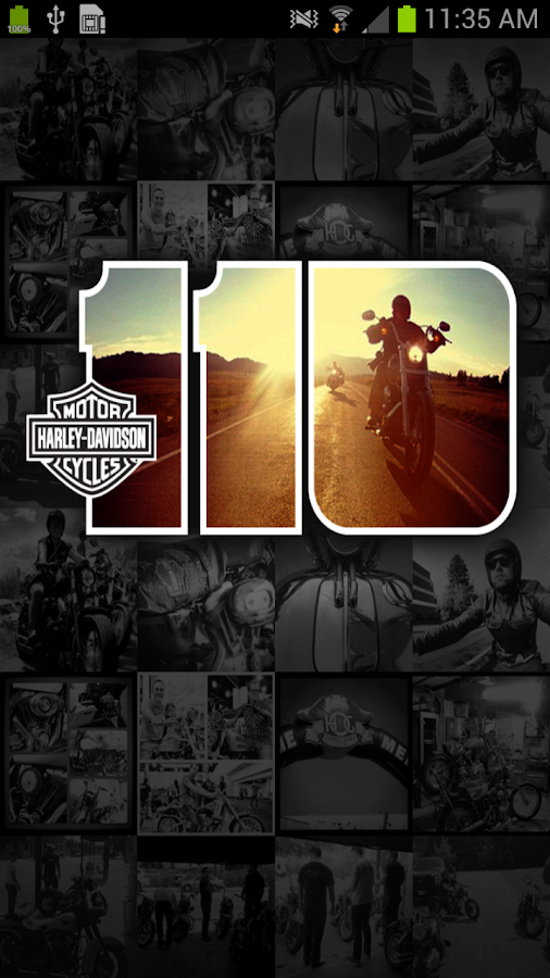 Official H-D 110th Anniv. - screenshot