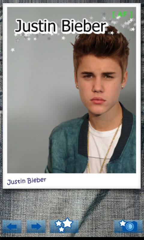 Justin Bieber Camera - screenshot