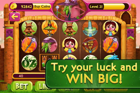 Slots Wizard of Oz 1.0.9 screenshot 38151