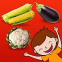 Montessori vegetables icon