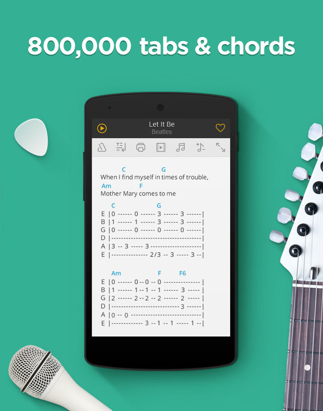 Ultimate Guitar Tabs & Chords- screenshot