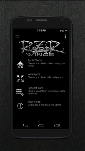 RZR Wings - Icon Pack
