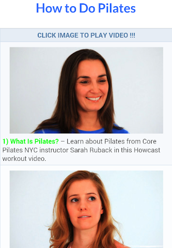 Pilates Workout Video