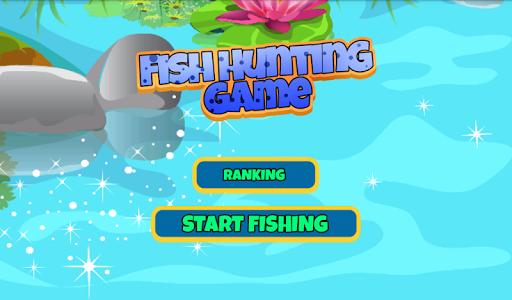 Juego de pescar con la caña
