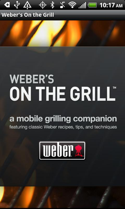 Weber's On the Grill™ - screenshot