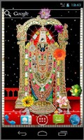 Screenshot of Tirupati Balaji Live Wallpaper
