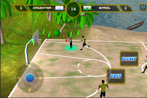【免費體育競技App】Beach Basketball 2014-APP點子